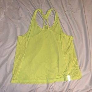 ‼️ Neon Yellow Under Armour Workout Tank Top ‼️